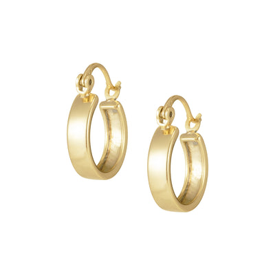 Gold Hoop Earring, Gold-Filled Hoops