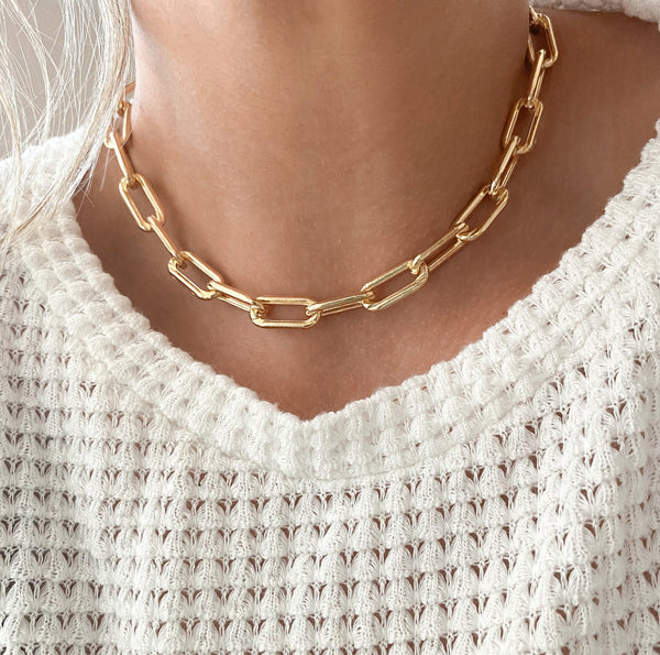Extra Chunky Link Necklace