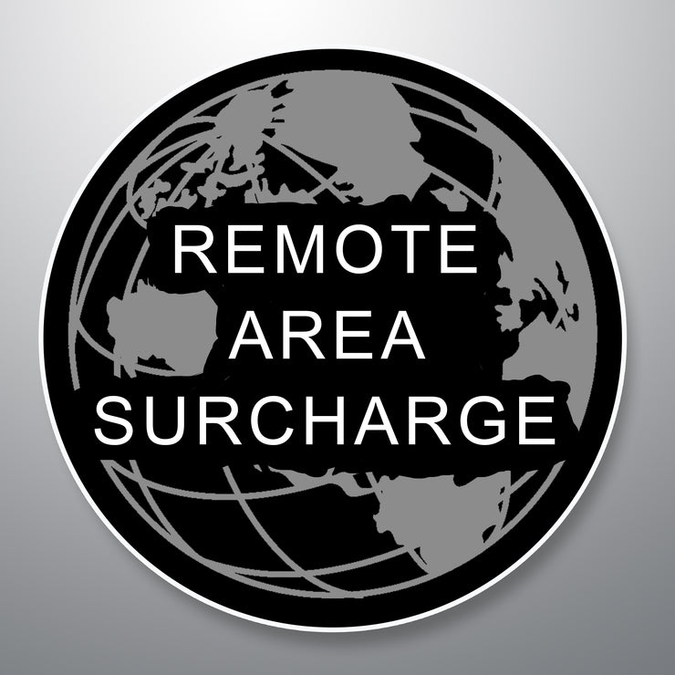 Remote Area Surcharge