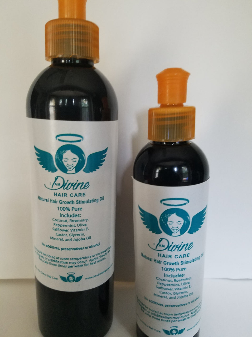 Natural Hair Growth Stimulating Oil