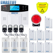 IOS Android APP Control Wireless Home Security GSM Alarm - Intercom - Remote Control - Siren  Toffee Tops Gear