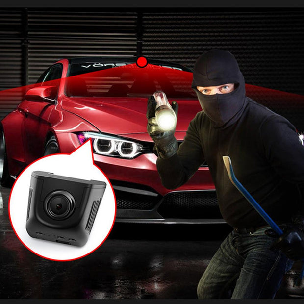 WIFI Car DVR Dash Cam Full HD 1080P 140 Degree Wide Angle Lens Electronics Toffee Tops Gear