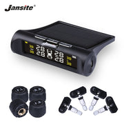 Jansite Car Tyre Pressure Monitoring System - Solar Charging - HD Digital LCD  Toffee Tops Gear