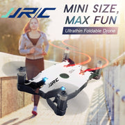 JJR/C JJRC H49 RC Drone SOL Ultrathin Wifi FPV Selfie Drone 720P Camera Auto Foldable Arm Altitude Hold RC Quadcopter VS H37 H47  Toffee Tops Gear