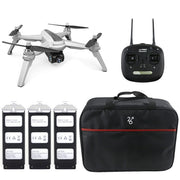 New JJRC JJPRO X5 5G WiFi FPV Professional RC Drone Brushless GPS Positioning Altitude Hold 1080P Camera With 3 Batteries 1 Bag  Toffee Tops Gear