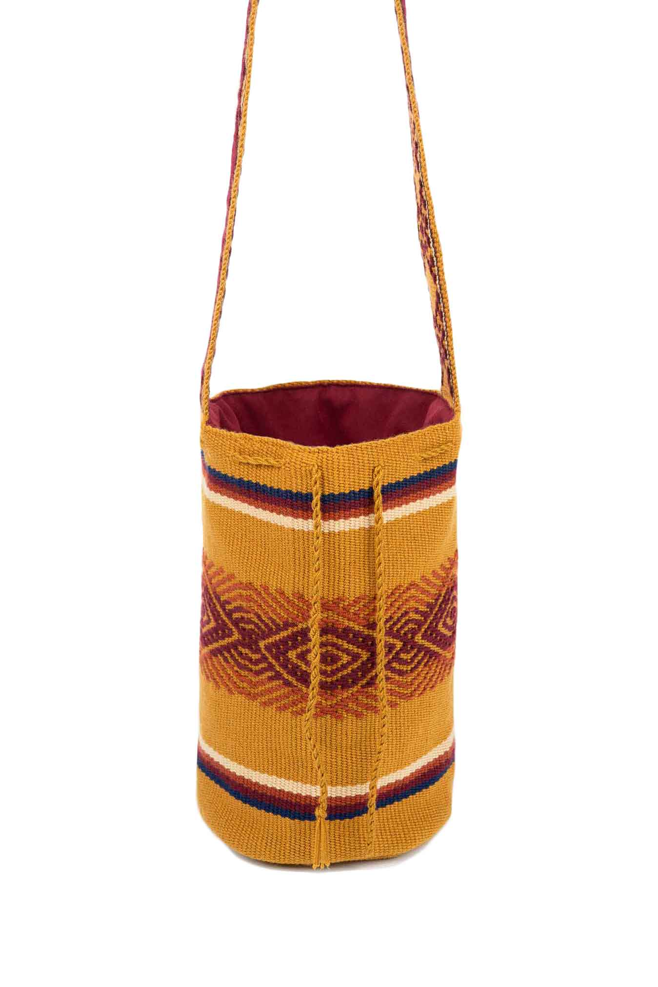 World Kamentsa Mochila Bag Mustard