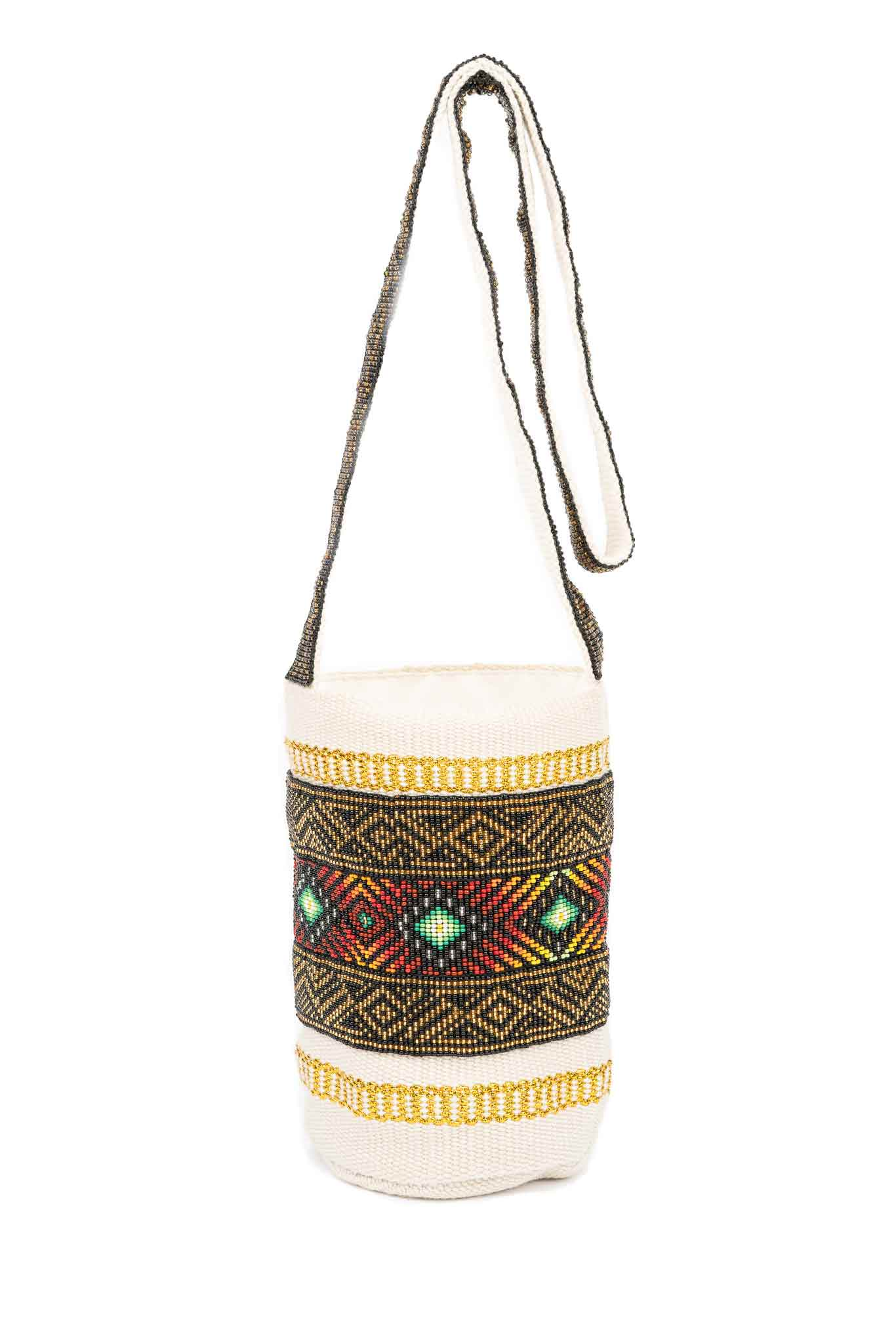 Kamentsa Luxurious Light Earth- White Bag