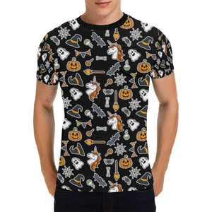 Unicorn Halloween T-Shirt - 50% Off for Halloween. Flat Shipping.