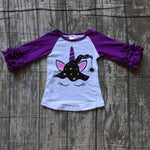 Girls Unicorn Witch Hat Top