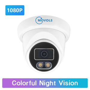 2.0 MP Colorful Night Vision Surveillance Camera AHD/TVI/CVI/Analog 4 IN 1 Security Camera