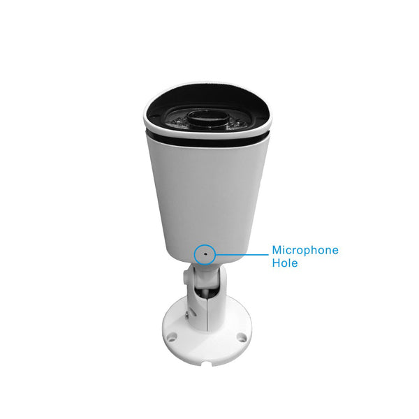 5.0 MP 3x Optical Zoom WIFI Network Video Surveillance Camera