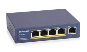 Movols 4 ports PoE Switch