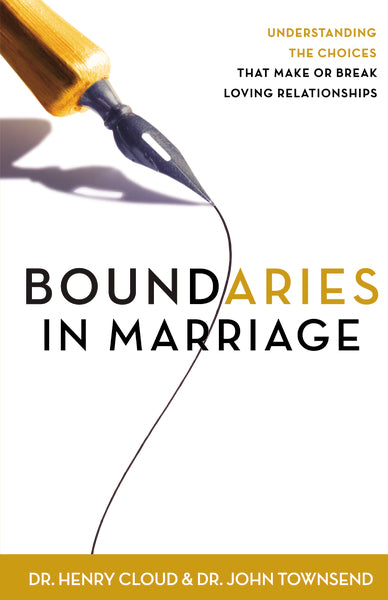 Boundaries in Marriage by Henry Cloud and John Townsend