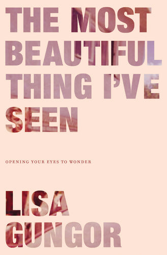 The Most Beautiful Thing I've Seen: Opening Your Eyes to Wonder by Lisa Gungor