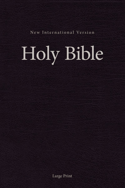 NIV, Single-Column Pew and Worship Bible, Large Print