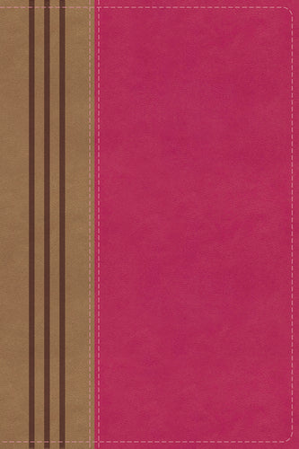 NIV, Biblical Theology Study Bible, Leathersoft, Pink/Brown, Indexed, Comfort Print: Follow God's Redemptive Plan as It Unfolds throughout Scripture by D. A. Carson, T. Desmond Alexander, Richard Hess, Douglas J. Moo, and Andrew David Naselli