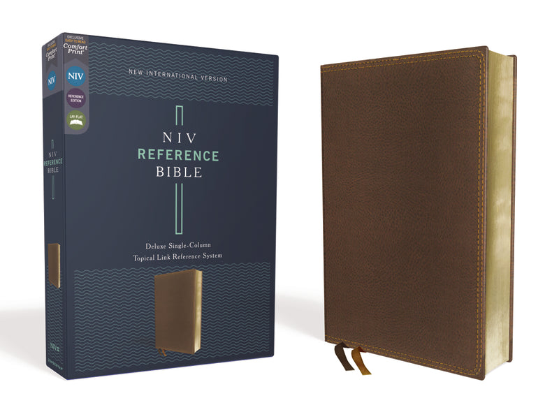 NIV, Reference Bible, Deluxe Single-Column, Comfort Print