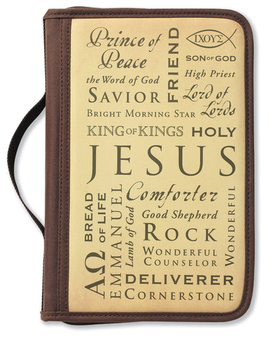 Inspiration Names of Jesus  Large Book and Bible Cover