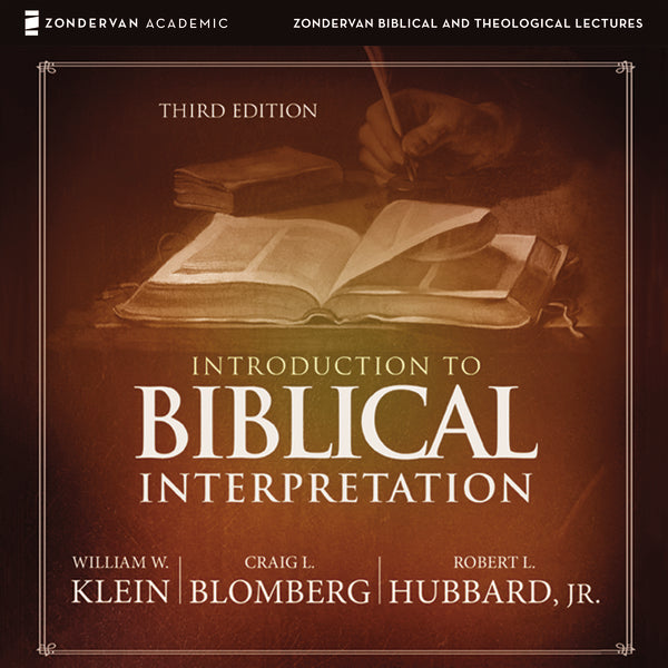 Introduction to Biblical Interpretation: Audio Lectures: A Complete Course for the Beginner - Audiobook (Unabridged)