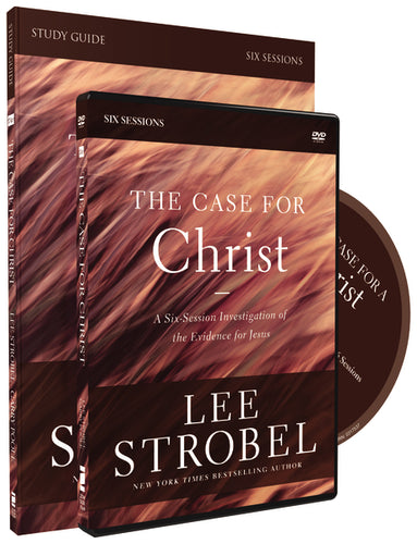 The Case for Christ Study Guide with DVD: A Six-Session Investigation of the Evidence for Jesus
