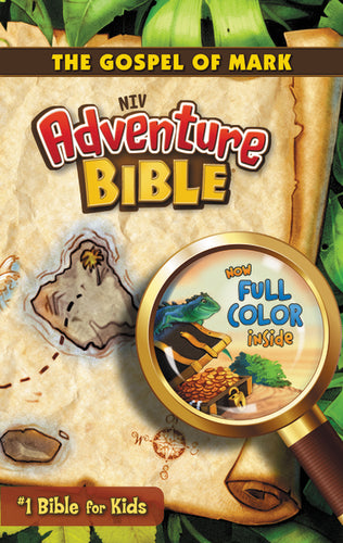 NIV, Adventure Bible: The Gospel of Mark, Paperback, Full Color by Lawrence O. Richards