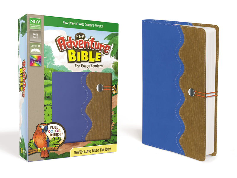 NIrV, Adventure Bible for Early Readers, Full Color Interior