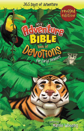 Adventure Bible Book of Devotions for Early Readers, NIrV: 365 Days of Adventure by Marnie Wooding