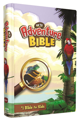 NKJV, Adventure Bible, Hardcover, Full Color by Lawrence O. Richards