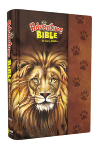 NIrV, Adventure Bible for Early Readers, Hardcover, Full Color Interior, Lion by Lawrence O. Richards