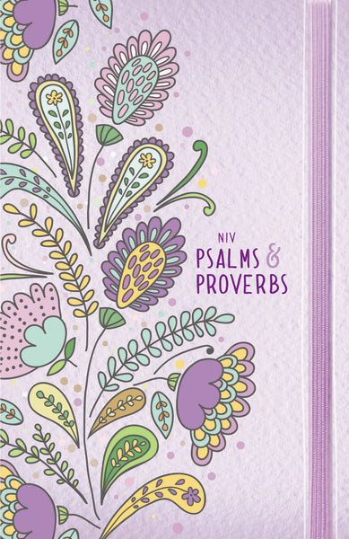 NIV, Psalms and Proverbs, Comfort Print: Poetry and Wisdom for Today