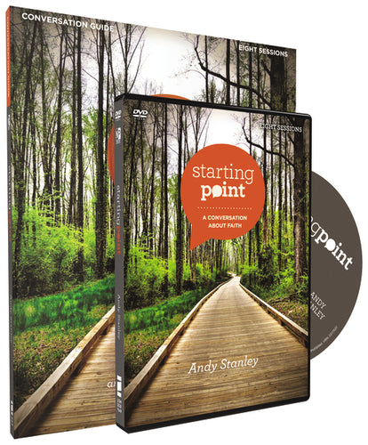 Starting Point Conversation Guide Revised Edition with DVD: A Conversation About Faith by Andy Stanley