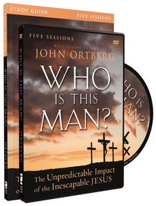 Who Is This Man? Study Guide with DVD: The Unpredictable Impact of the Inescapable Jesus by John Ortberg and Christine Anderson