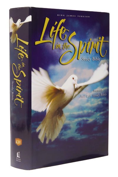 KJV, Life in the Spirit Study Bible, Red Letter Edition: Formerly Full Life Study