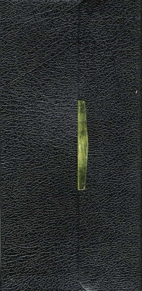 KJV, Checkbook Bible, Compact, Wallet Style, Red Letter Edition: Holy Bible, King James Version