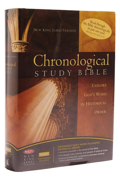 NKJV, Chronological Study Bible: Holy Bible, New King James Version