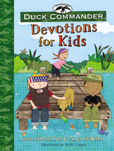 Load image into Gallery viewer, Duck Commander Devotions for Kids by Korie Robertson and Chrys Howard