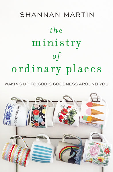The Ministry of Ordinary Places: Waking Up to God's Goodness Around You by Shannan Martin