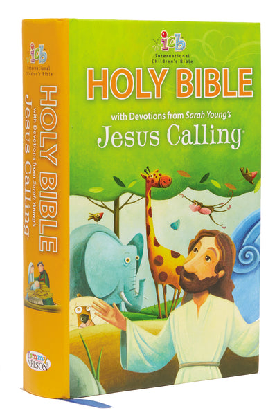 ICB, Jesus Calling® Bible for Children, Hardcover: with Devotions from Sarah Young's Jesus Calling®