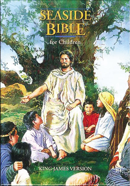 KJV, Seaside Bible, Full-Color Illustrated: Holy Bible, King James Version