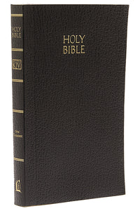 KJV, Vest Pocket New Testament, Softcover, Black, Red Letter Version