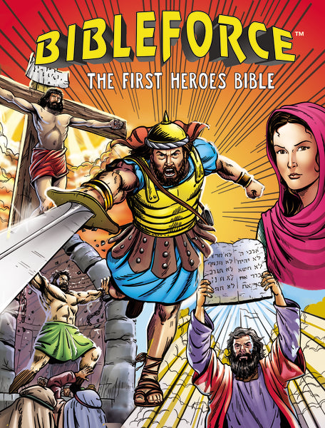 BibleForce: The First Heroes Bible by Janice Emmerson