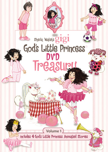 A God's Little Princess DVD Treasury Box Set by Sheila Walsh
