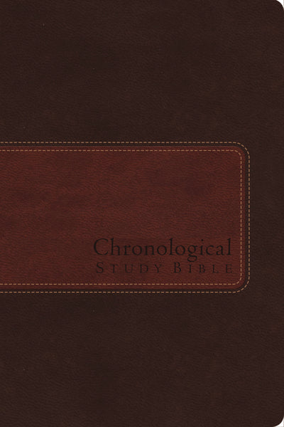 NIV, Chronological Study Bible, Leathersoft, Brown: Holy Bible, New International Version