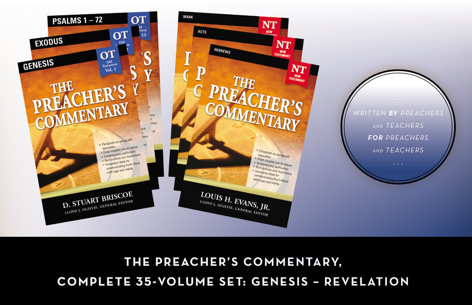 The Preacher's Commentary, Complete 35-Volume Set: Genesis – Revelation