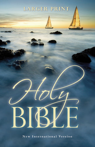 NIV, Holy Bible, Larger Print, Paperback