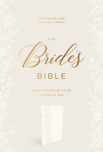 KJV, Bride's Bible, Leathersoft, White, Red Letter Edition, Comfort Print: Holy Bible, King James Version