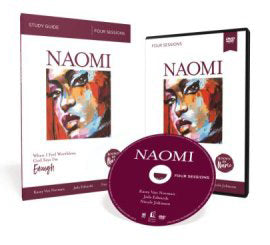 Known by Name: Naomi with DVD: When I Feel Worthless, God Says I'm Enough