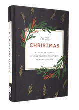 Load image into Gallery viewer, On This Christmas: A Five-Year Journal of Your Favorite Traditions, Memories, and Gifts