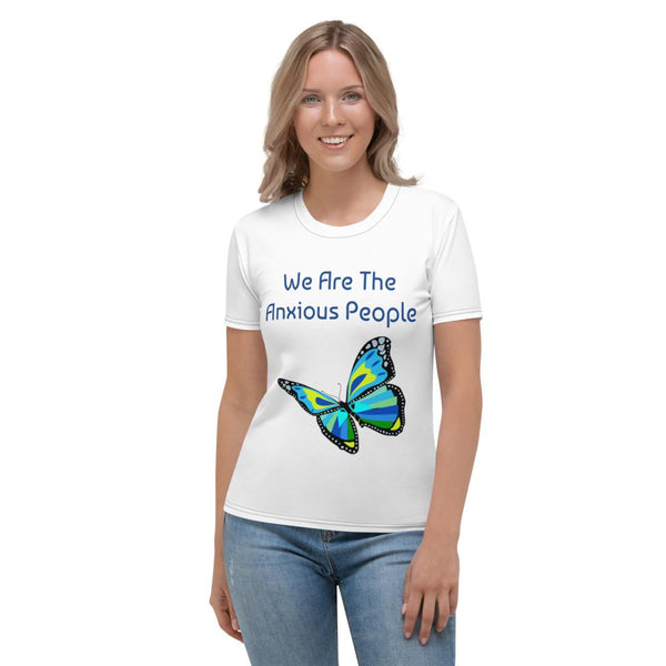 We Are The Anxious People - Women's T-shirt t-shirts Zuntree XS