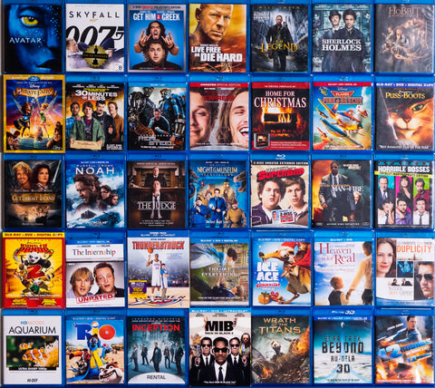 Mixed-Genre Blu-Ray Lots